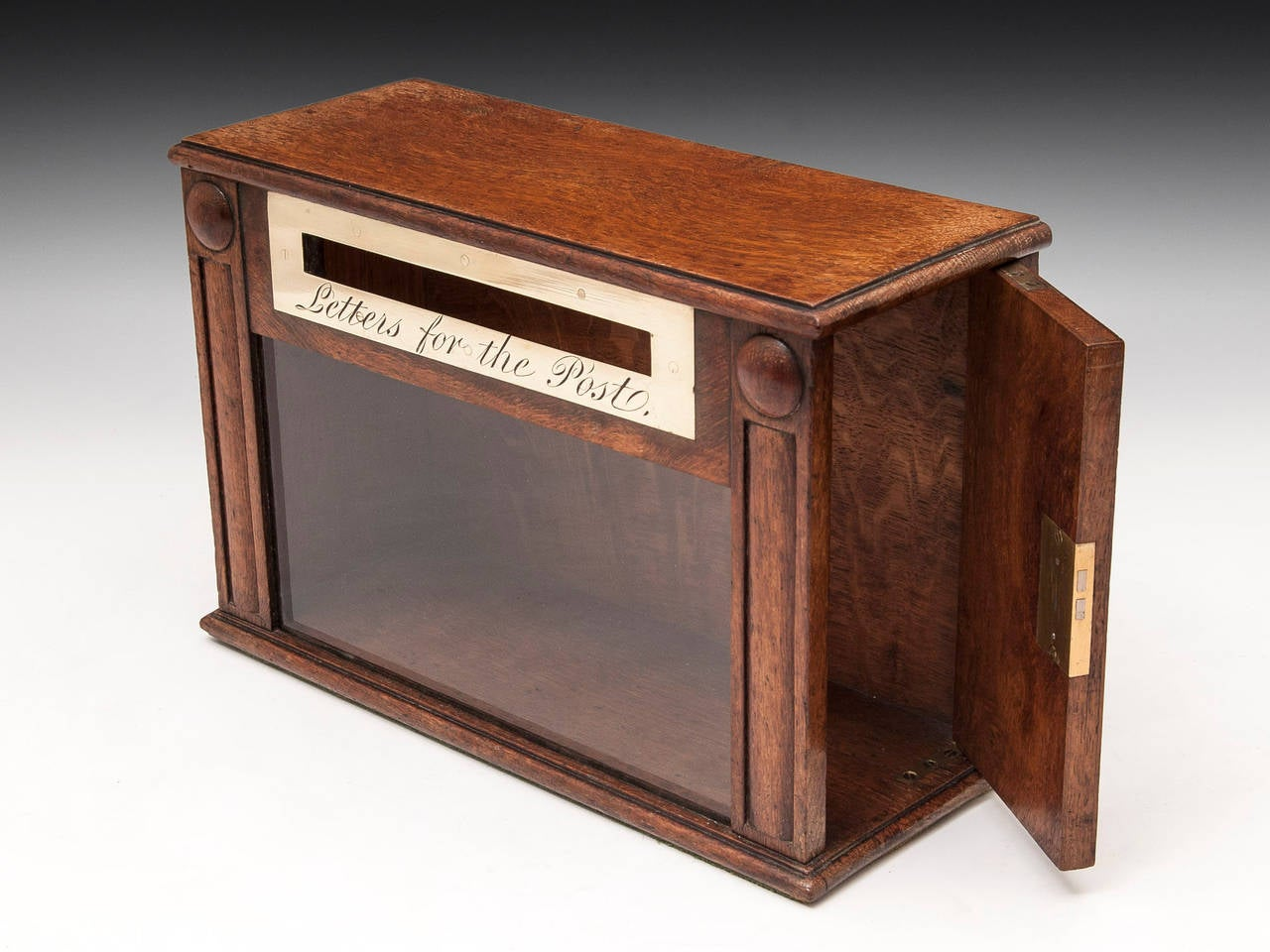 Oak letter box at 1stdibs for Furniture 5 letters