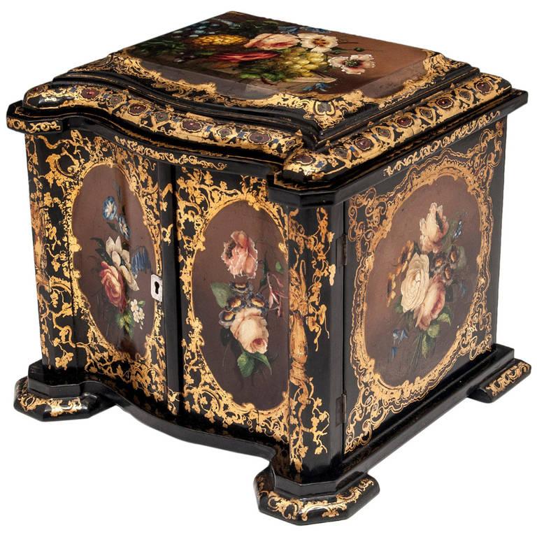 Papier Mâché Cabinet 1