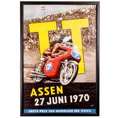 Dutch TT Original Advertising Poster
