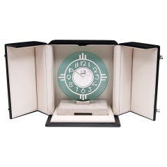 20th Century Alfred Dunhill Mantel Clock