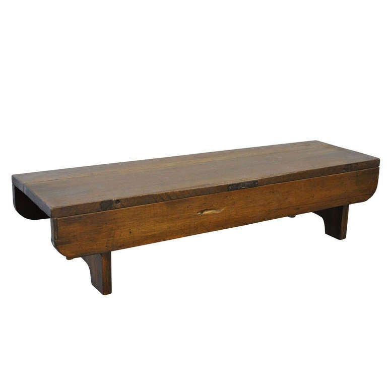 Antique Wooden Bench At 1stdibs