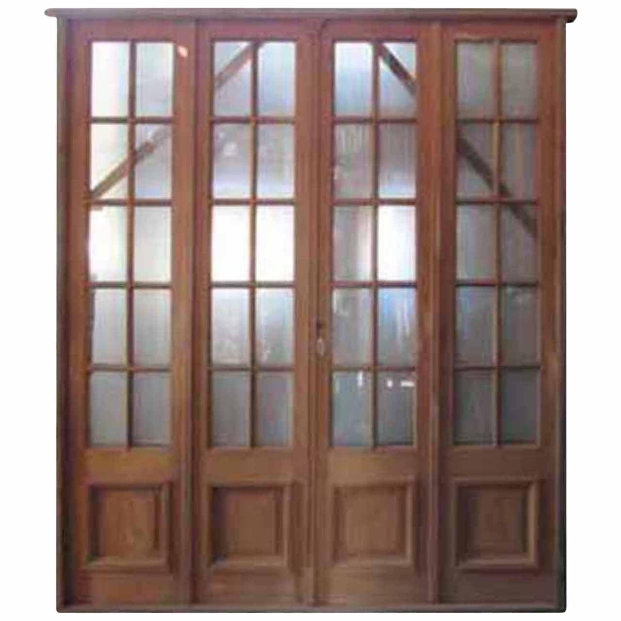 Antique quad patio door at 1stdibs for 1800 patio doors