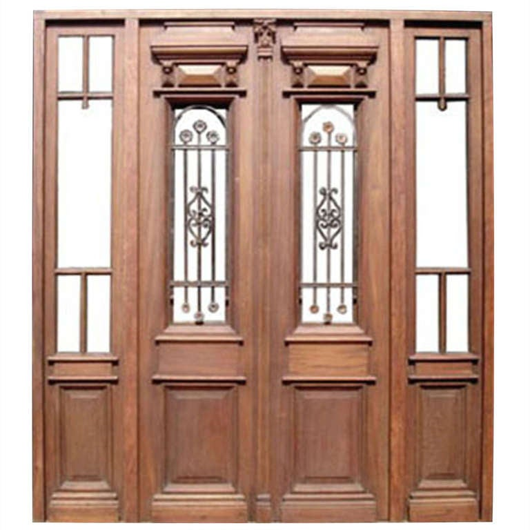 Double doors may 2015 - Double front entry doors with sidelights ...