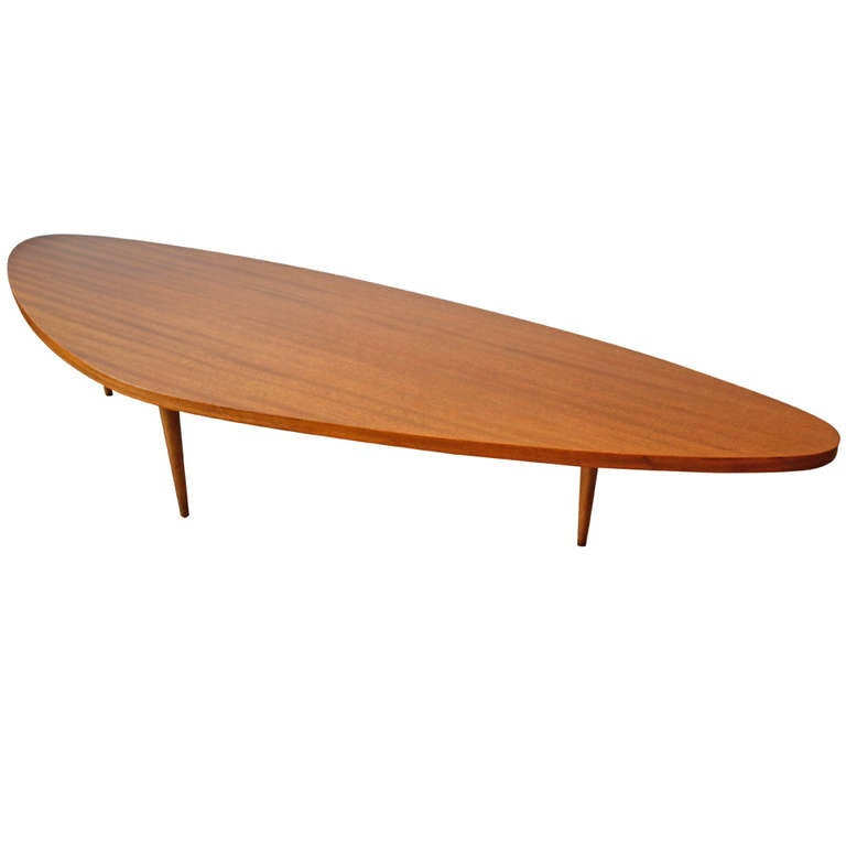 1950s harvey probber boomerang coffee table at 1stdibs for Harveys coffee tables