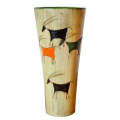 Italian Vase Attributed to Bitossi, circa 1960s