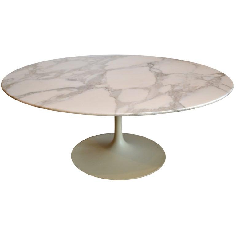 Eero Saarinen For Knoll Tulip Coffee Table At 1stdibs