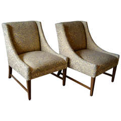 Richard Neutra Quot Boomerang Quot Easy Chairs At 1stdibs