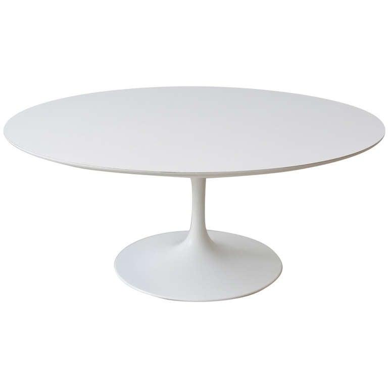 Knoll Tulip Base Coffee Table By Eero Saarinen At 1stdibs