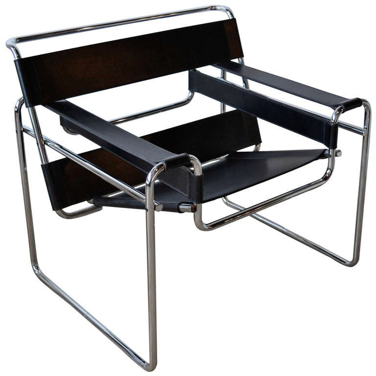 knoll wassily chair by marcel breuer at 1stdibs. Black Bedroom Furniture Sets. Home Design Ideas