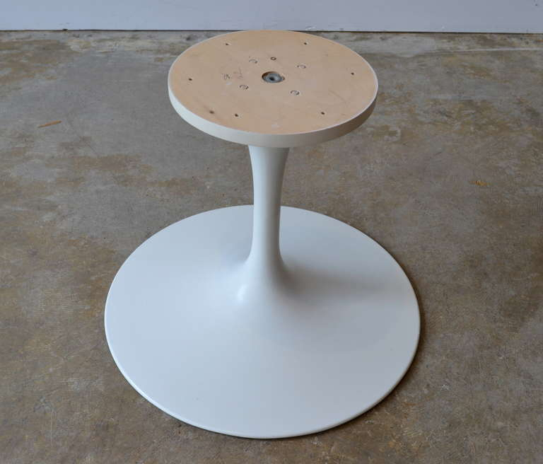 mid century modern early knoll tulip base coffee table by eero saarinen 1950s for - Saarinen Tulip Table