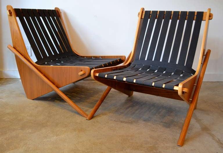 """richard neutra """"boomerang"""" easy chairs at 1stdibs"""