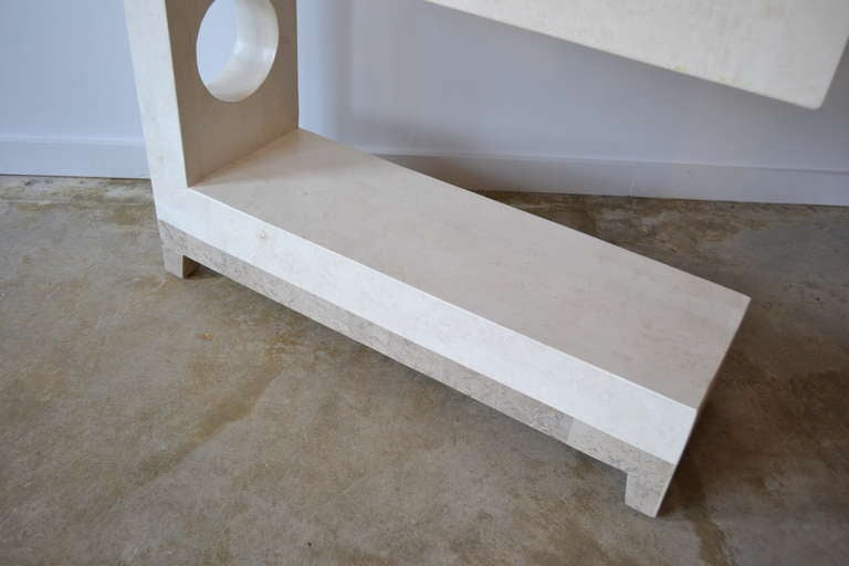 Mid century travertine etagere by maitland smith at 1stdibs - Etagere 6 cases ...