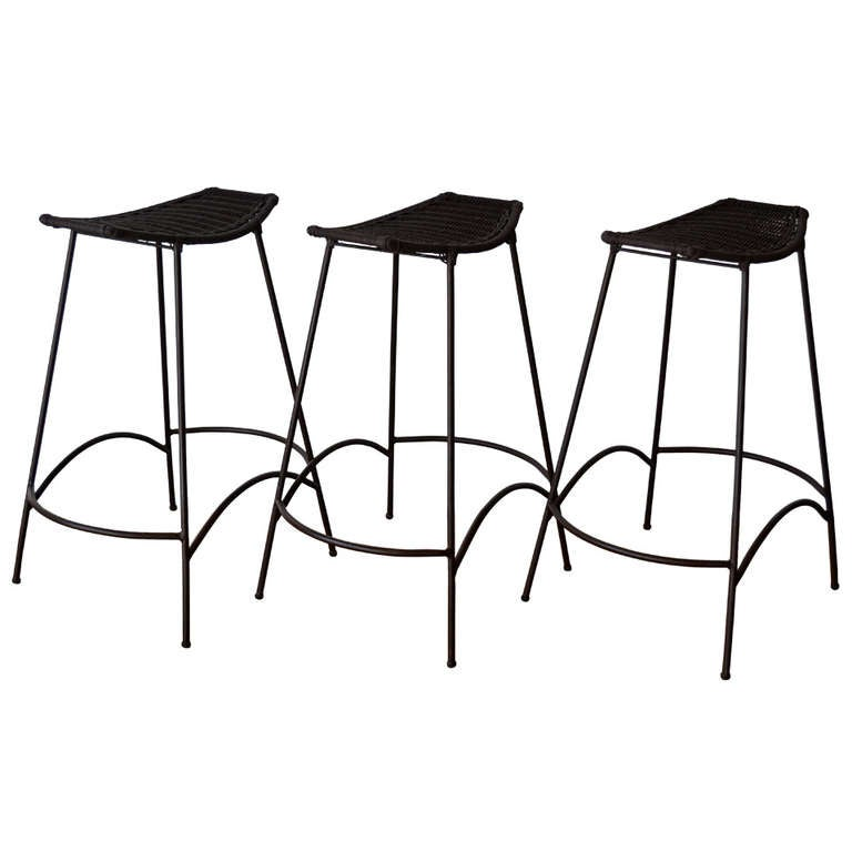 Stools In The Style Of Arthur Umanoff 20th Century At 1stdibs