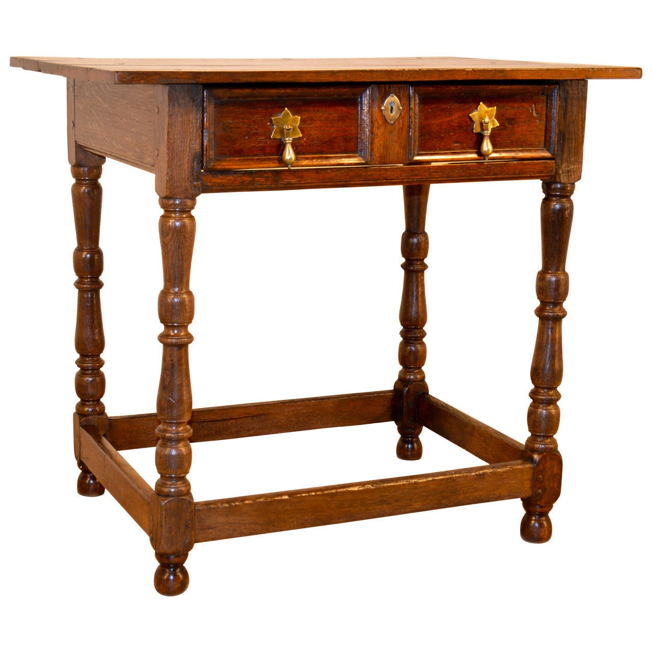 17th c english oak side table with single drawer at 1stdibs for C table with drawer