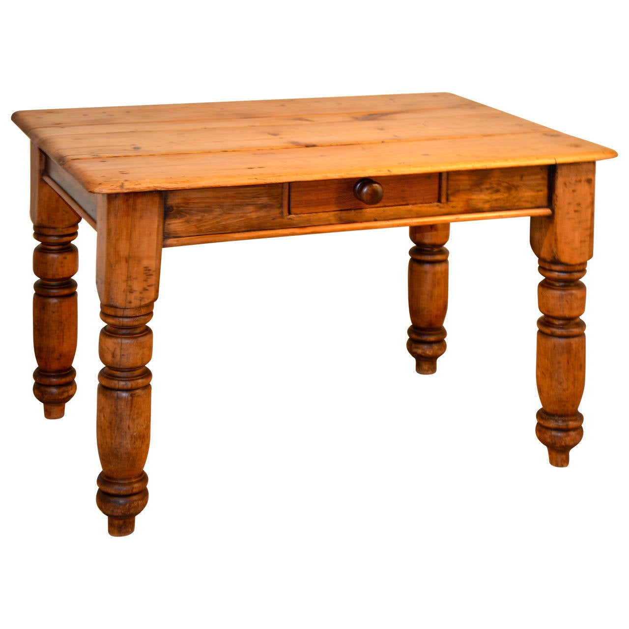 19th c english pine side table for sale at 1stdibs for Xpages table th
