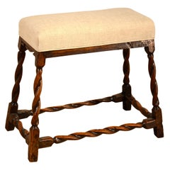 17th Century English Oak Bench