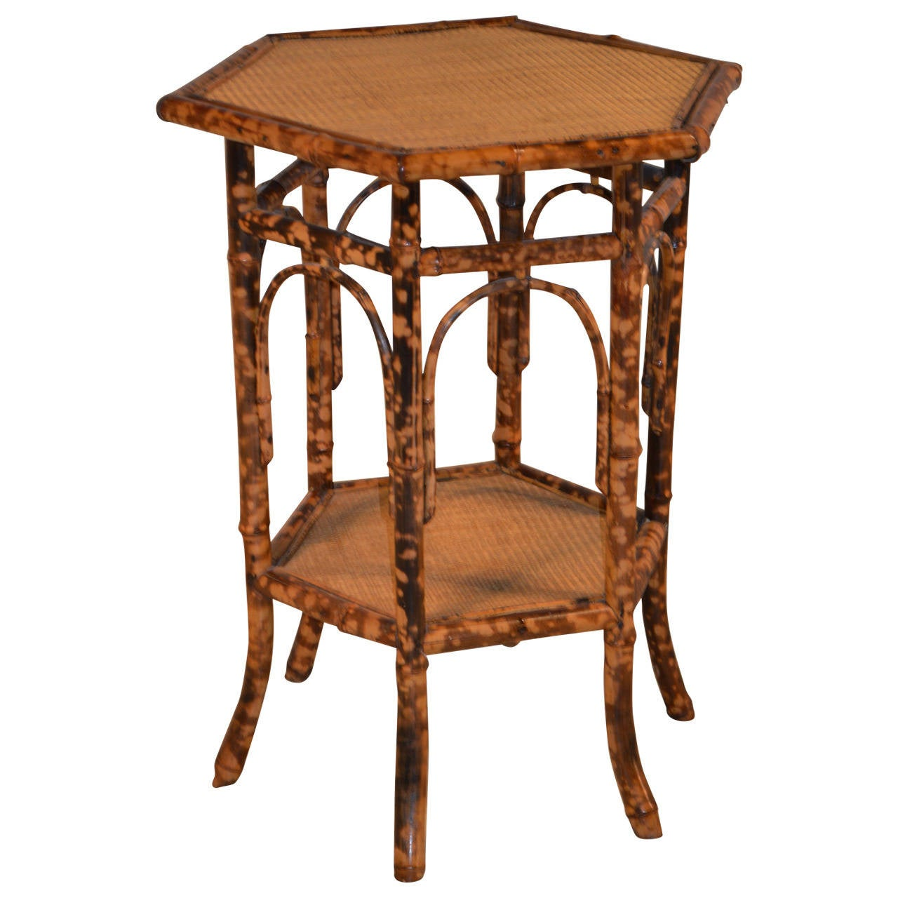 19th century french bamboo side table at 1stdibs for Bamboo side table