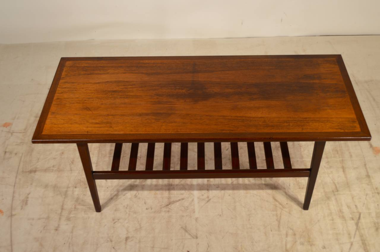 Mid Century Modern G Plan Teak Coffee Table For