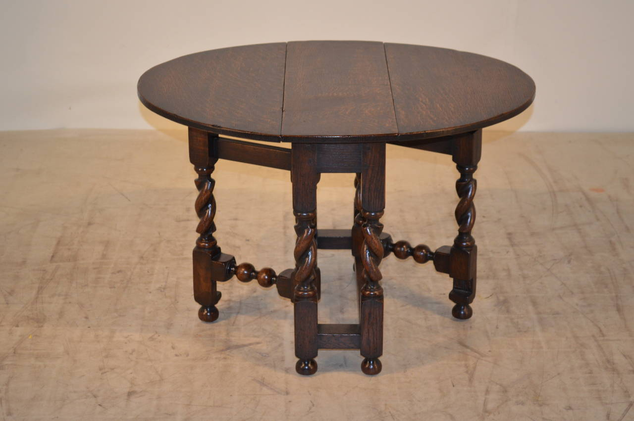 19th Century English Cocktail Table For Sale At 1stdibs
