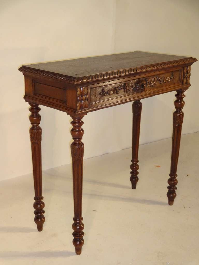 Th c carved console table at stdibs