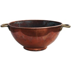 18th Century Dutch Copper Bowl