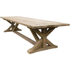Solid Oakwood Monastery Table
