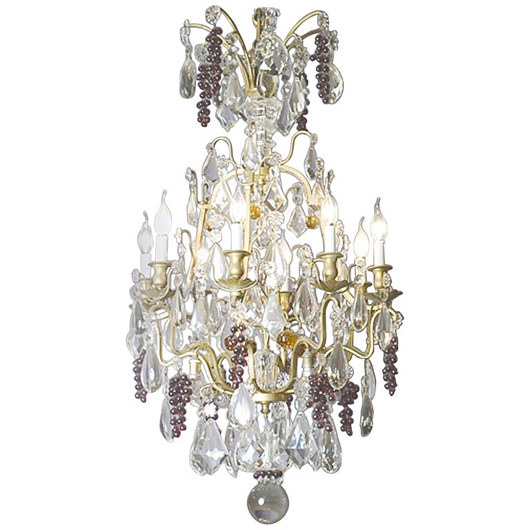 19th C French Fruit Chandelier at 1stdibs – Fruit Chandelier