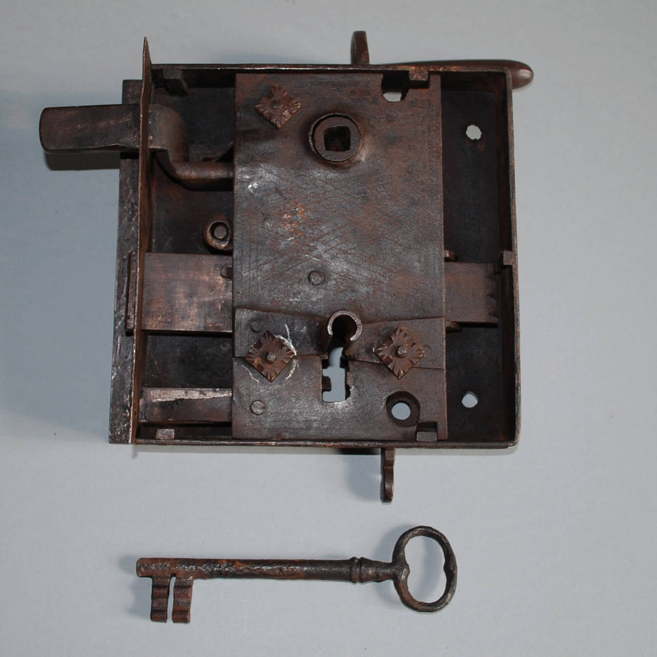 Lot of 17th and 18th century wrought iron locks at 1stdibs for 18th key of the door