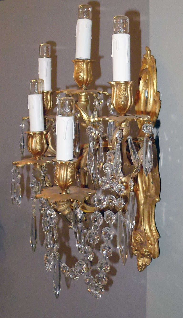 19th Century Pair of Wall Sconces For Sale 1