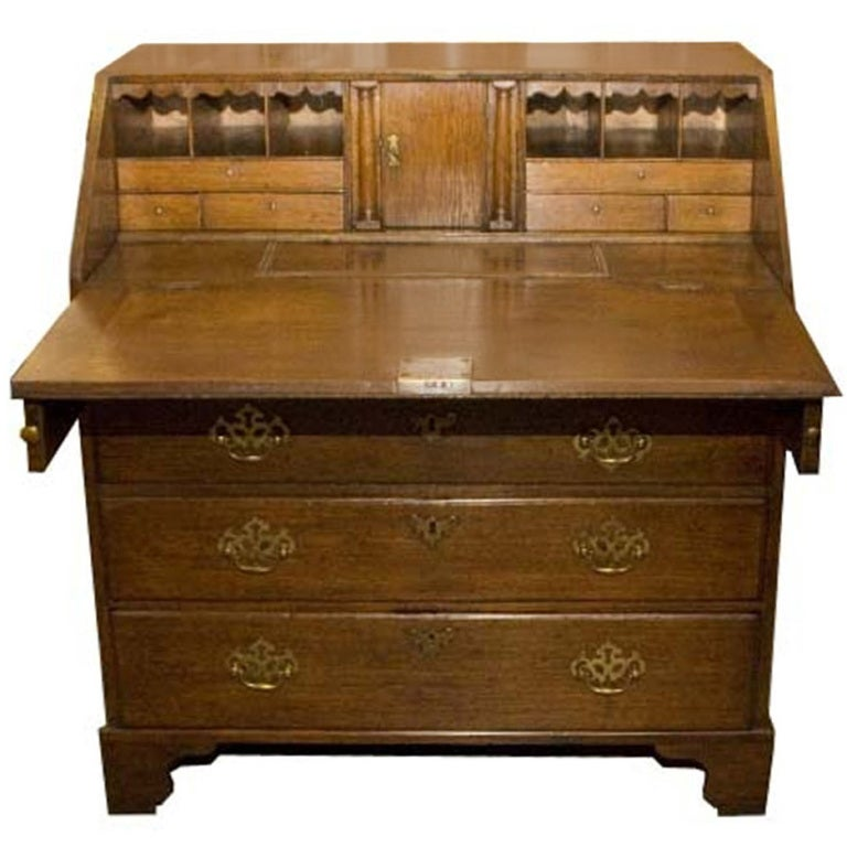 Early 19th century oakwood secretaire for sale at 1stdibs for Oakwood furniture