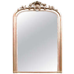 Large 19th Century Gold Gilded Mirror
