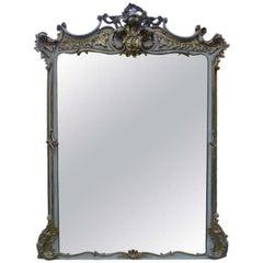 19th Century Large Italian Mirror