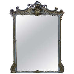 19th Century Large Italian Mirror