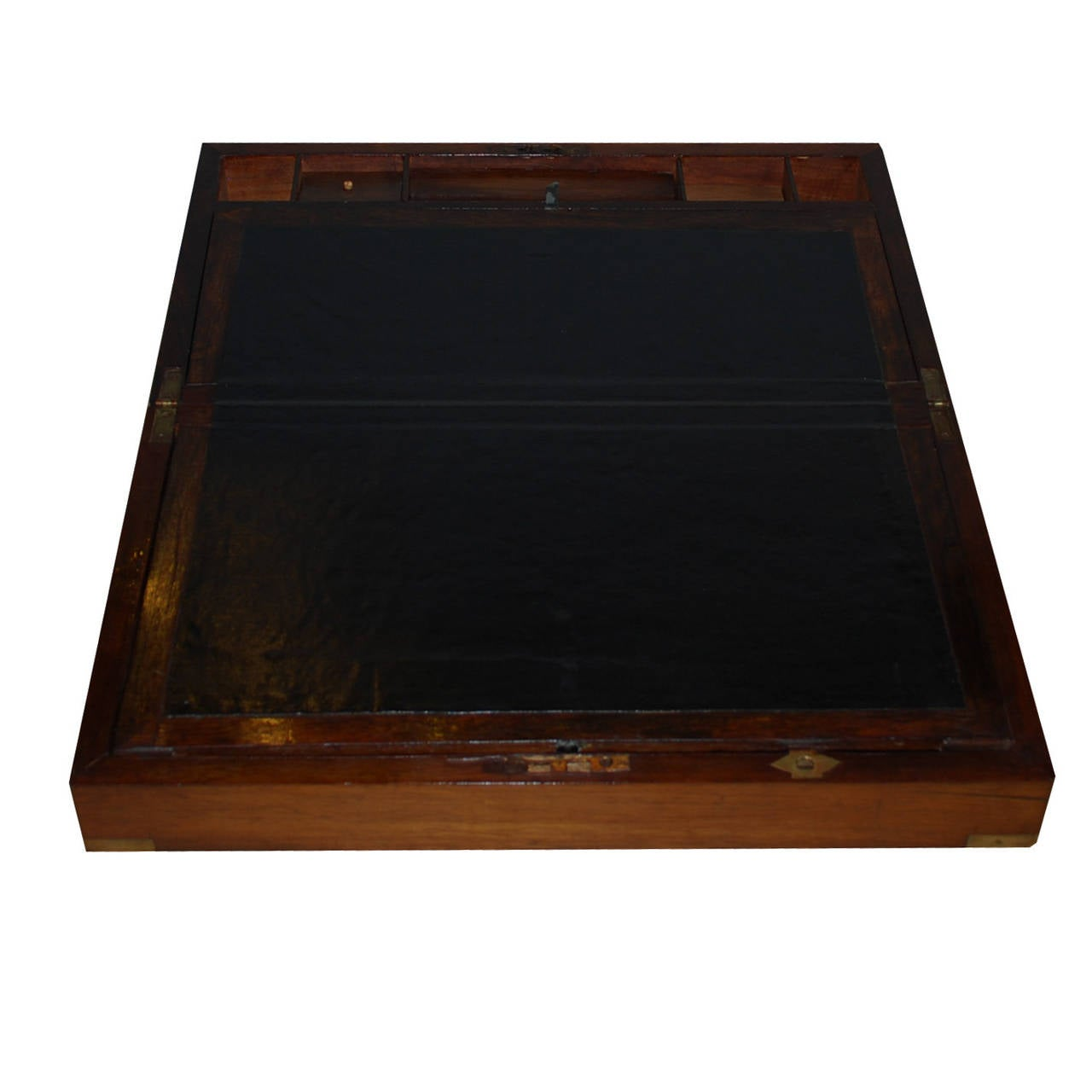 European 19th Century Mahogany Writing Box For Sale