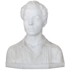 20th Century Marble Bust
