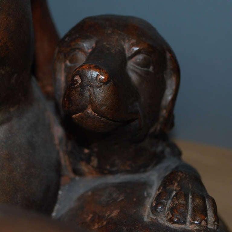 20th Century Terracotta Statue For Sale 5