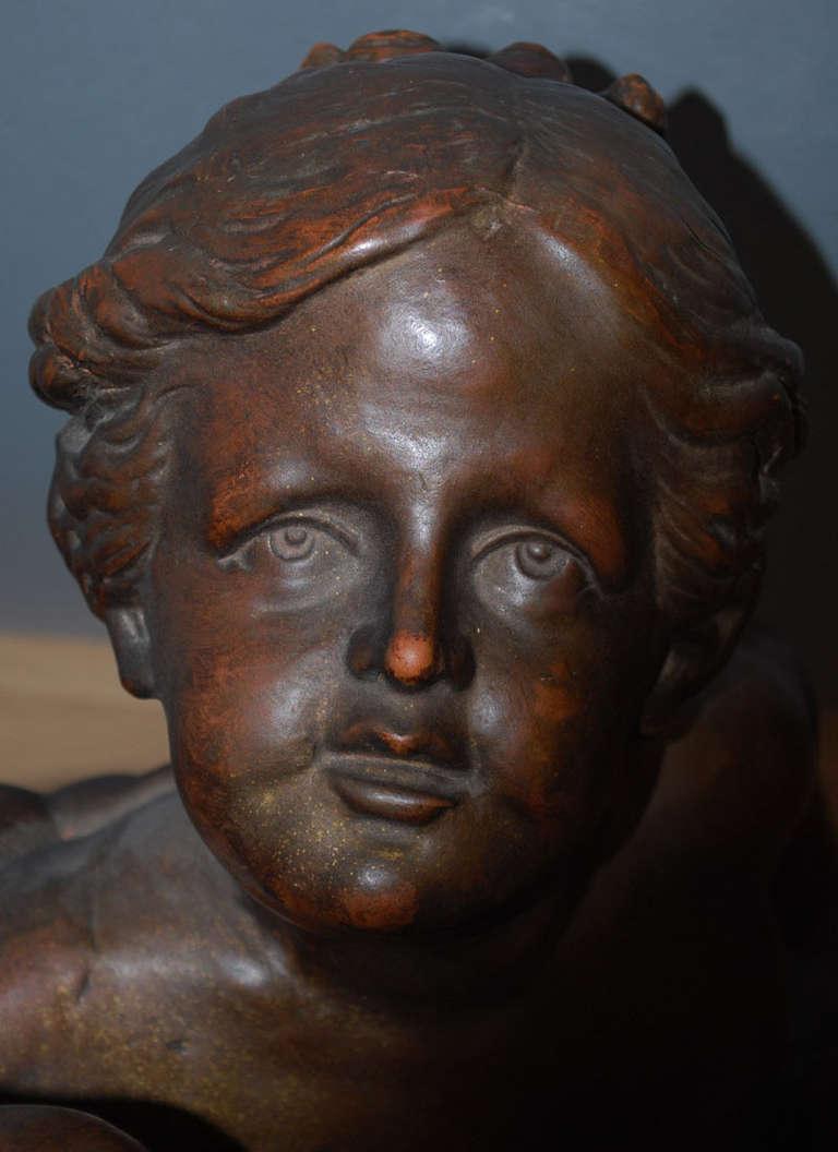20th Century Terracotta Statue For Sale 3