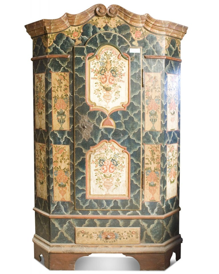 19th Century Bohemian Cabinet For Sale