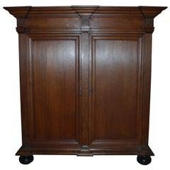 18th Century Dutch Oakwood Cabinet