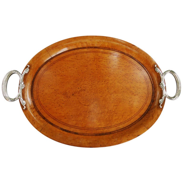 Birds Eye Maple Wood ~ Th century birds eye maple wood serving tray at stdibs