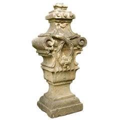 18th Century Sandstone Ornament