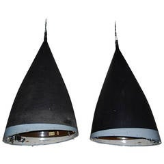 Pair of huge Industrial Lights Made from Panavia Tornado Jet-Fighter