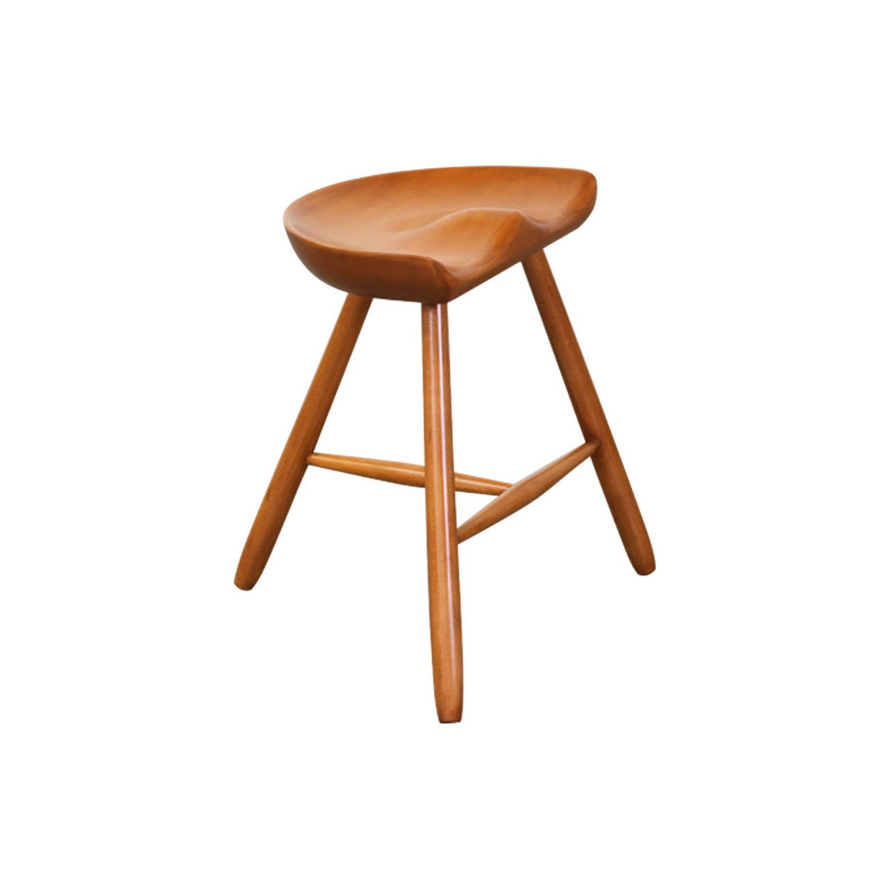 Three Legged Milking Stool After Mogens Lassen At 1stdibs