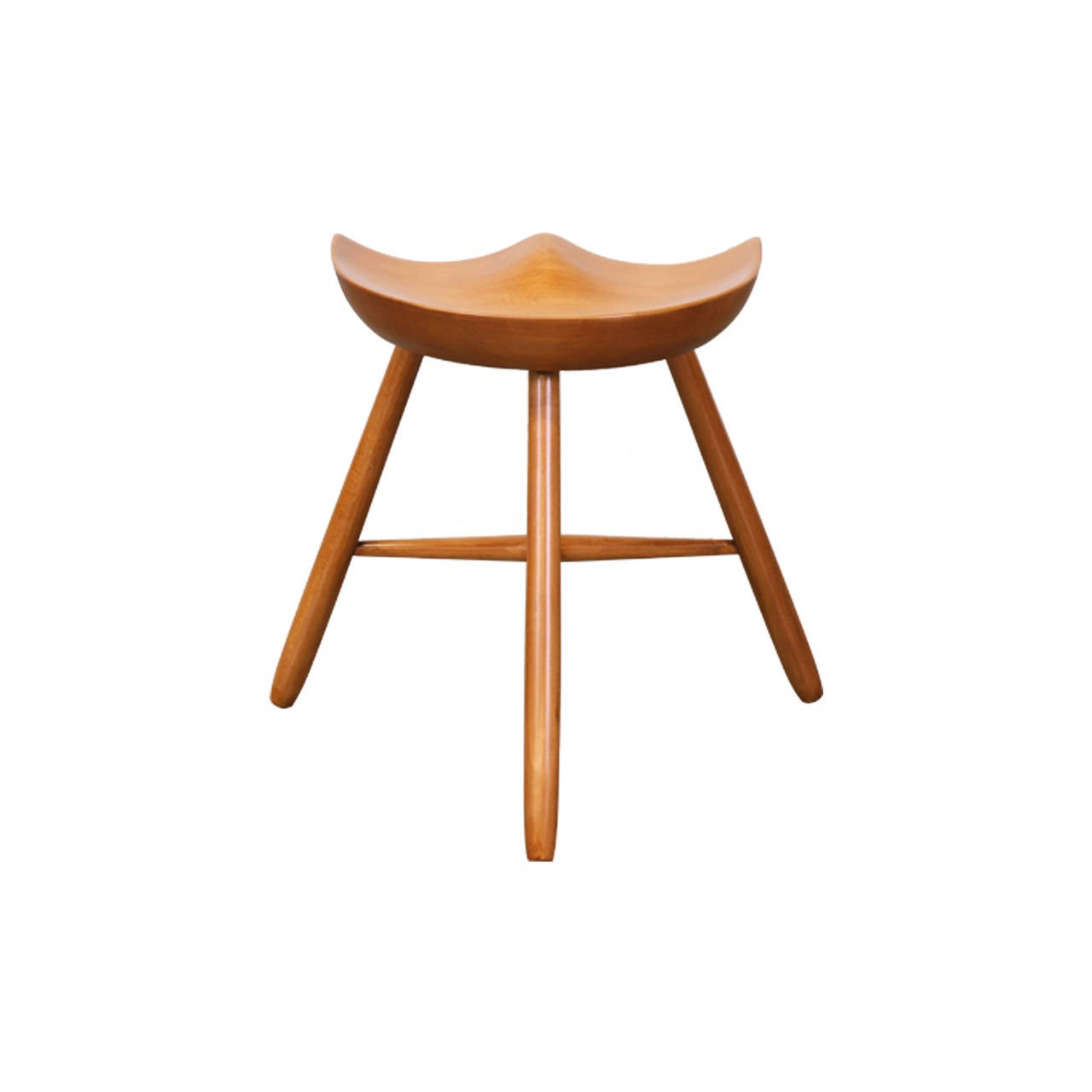 4 Legged Stool ~ Three legged milking stool after mogens lassen at stdibs