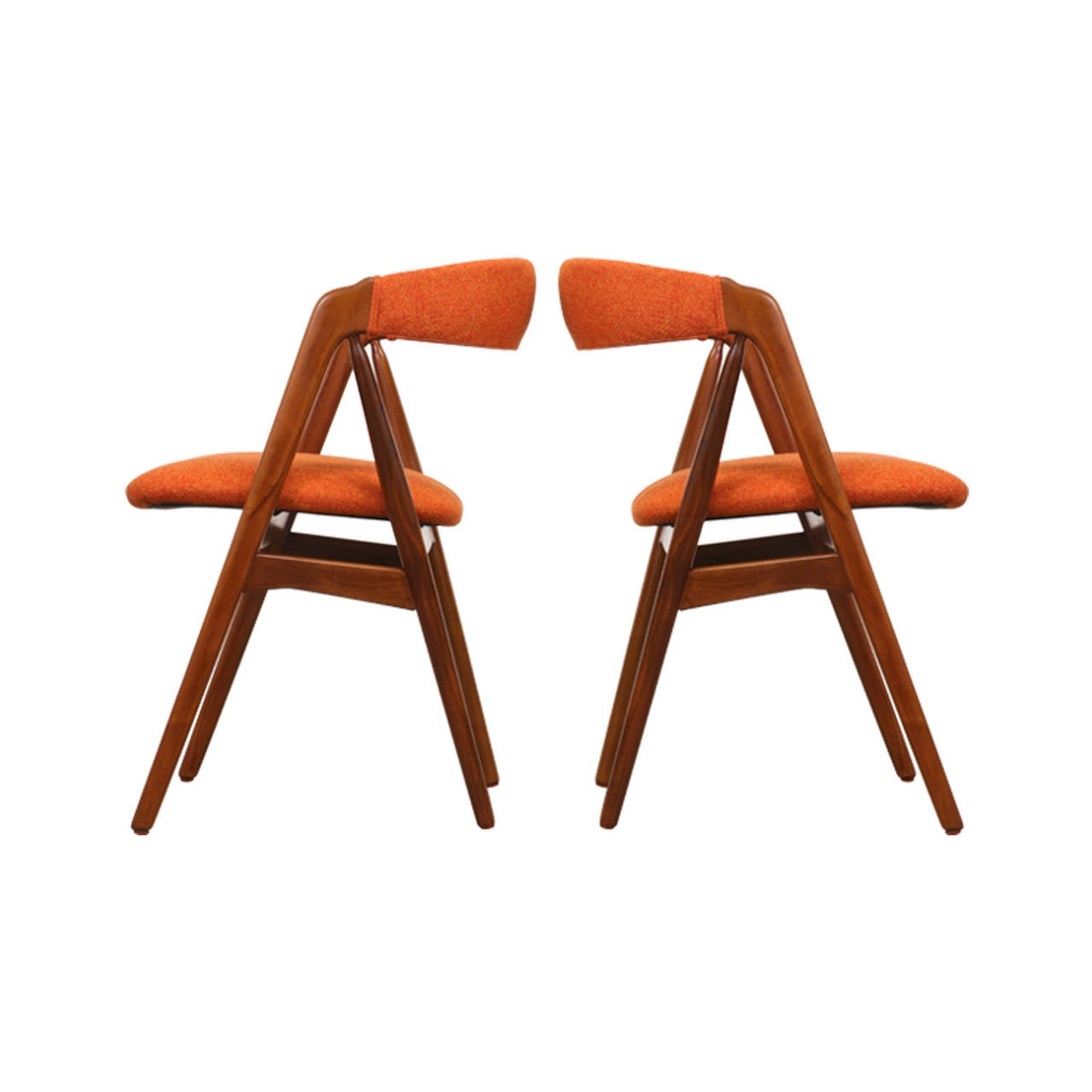 Kai kristiansen a frame dining chairs for sale at 1stdibs - Kai kristiansen chairs ...