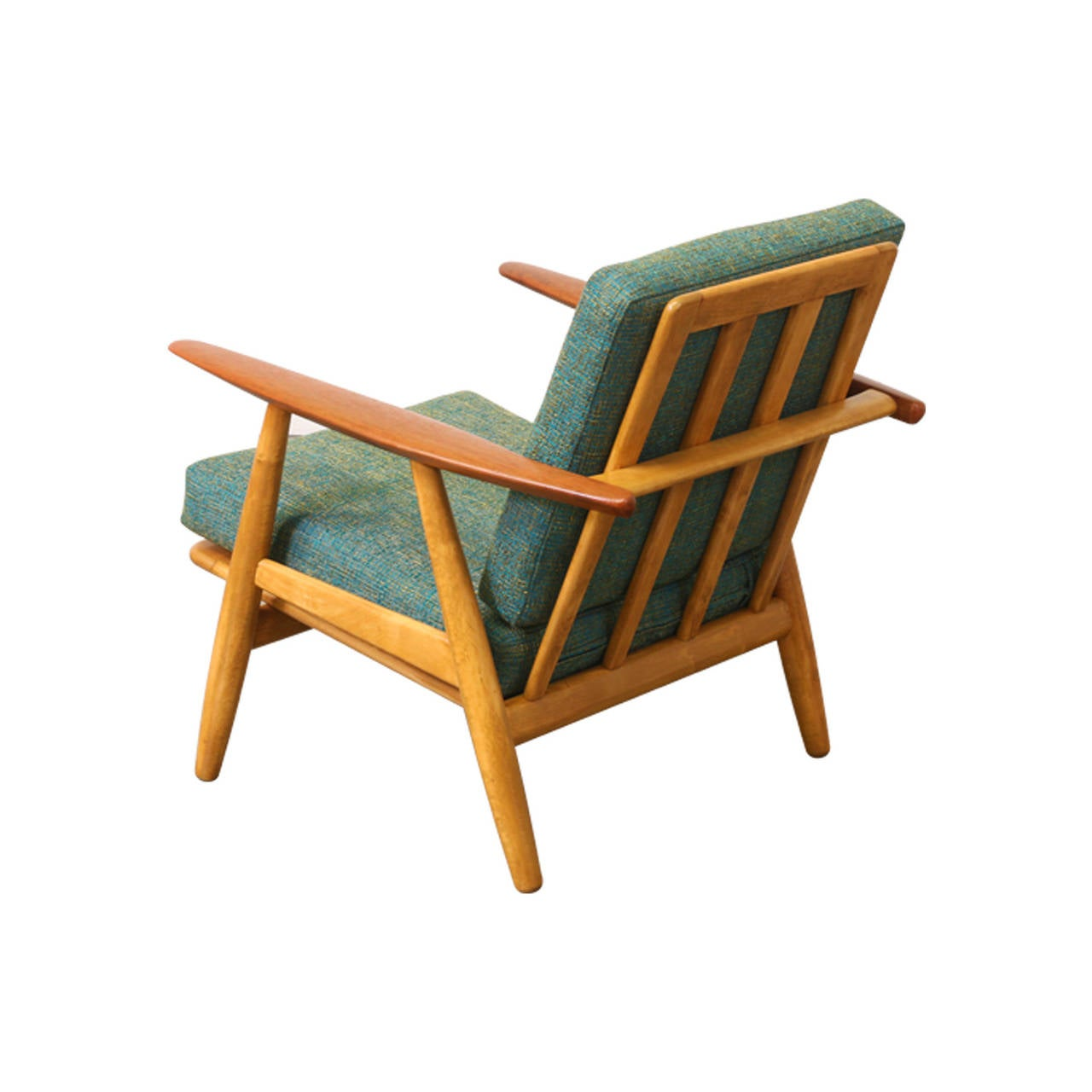 "Hans J Wegner GE 240 ""Cigar"" Lounge Chair for Getama at 1stdibs"