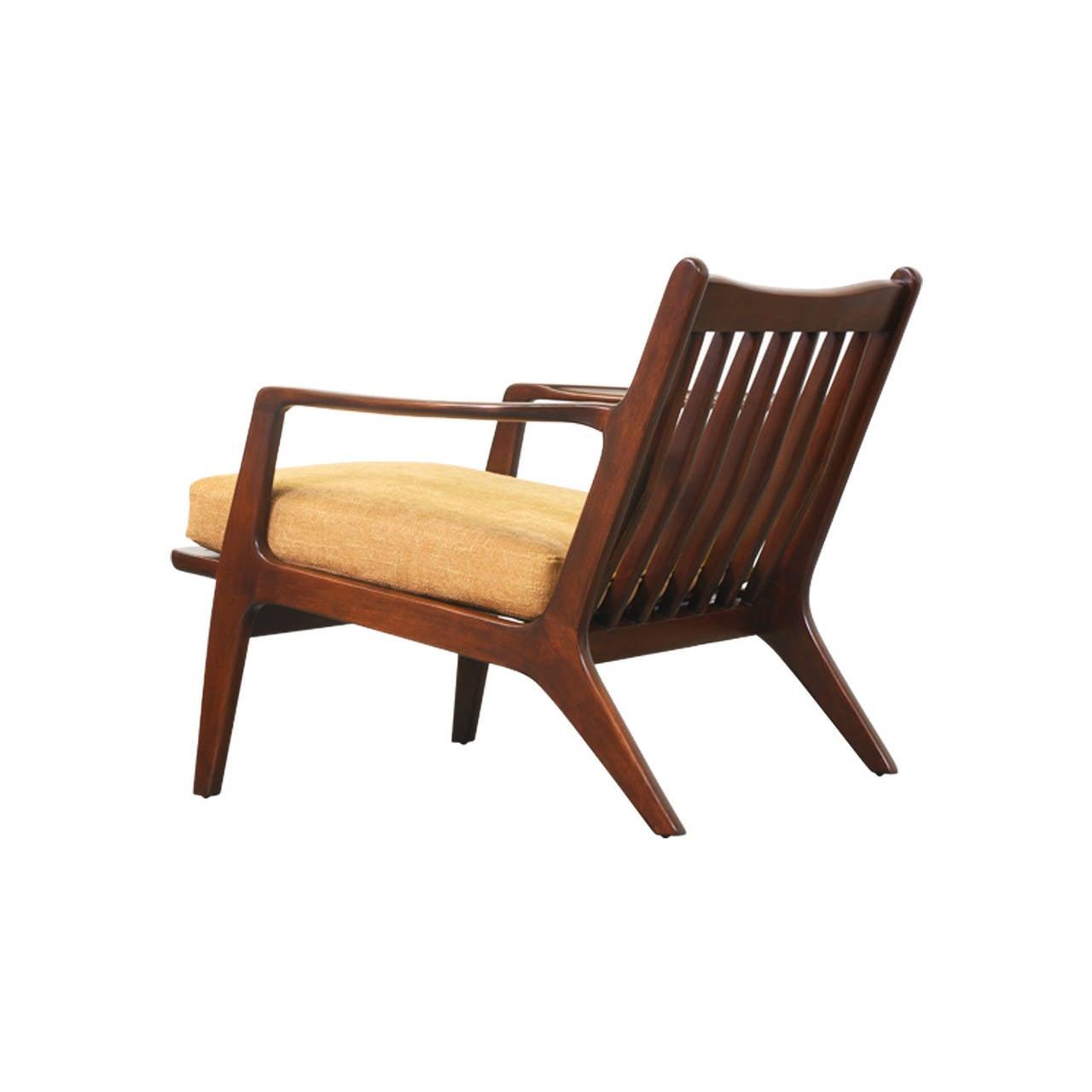 Kofod Larsen Lounge Chairs for Selig at 1stdibs