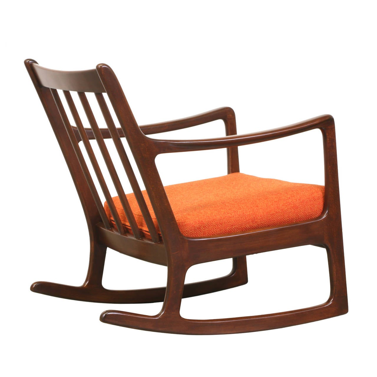 ole wanscher rocking chair for france and son for sale at 1stdibs. Black Bedroom Furniture Sets. Home Design Ideas