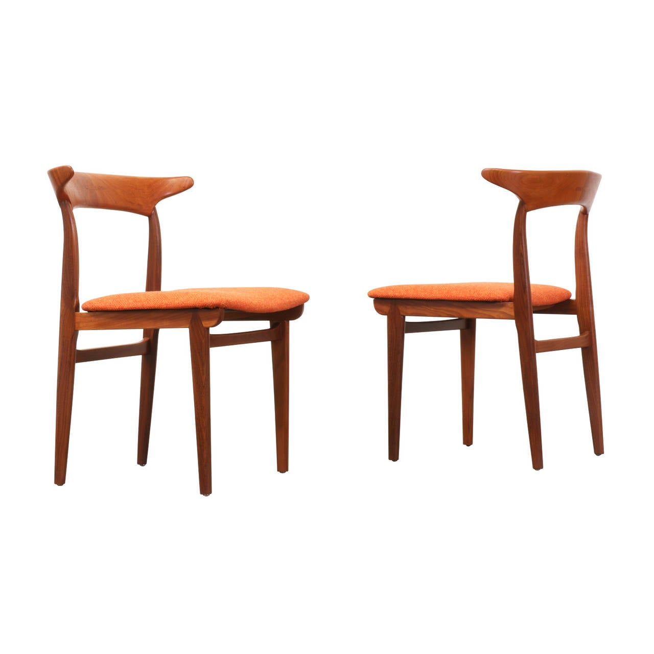 Danish Modern Teak Dining Chairs At 1stdibs