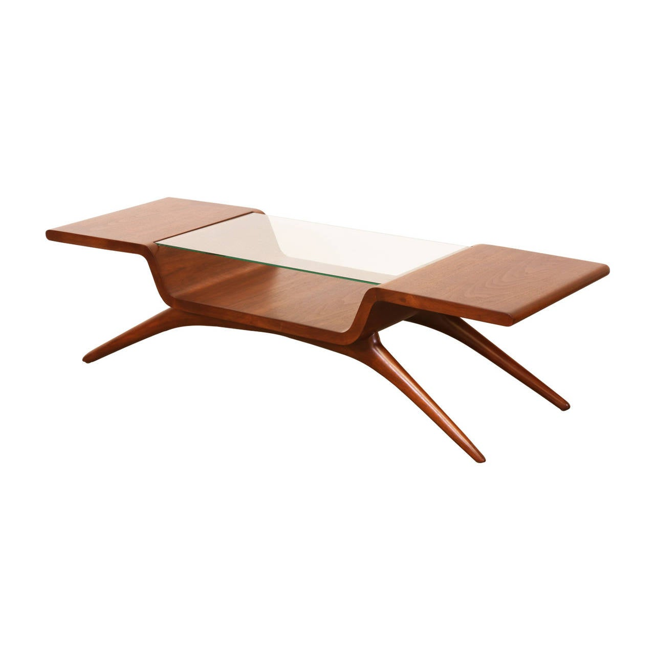 Vladimir Kagan Coffee Table For Dreyfuss At 1stdibs